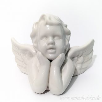 Dekofigur Engel weiß