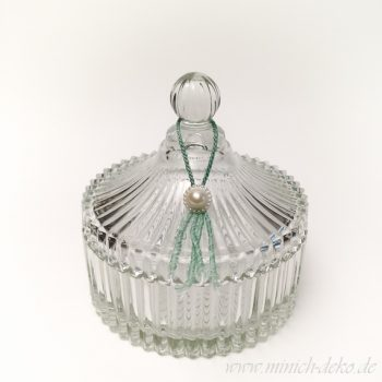 Glas-Bonboniere barock Stil