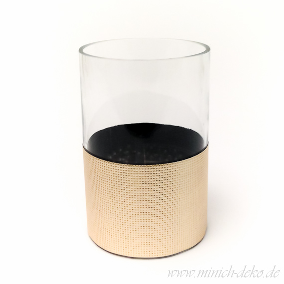 Glas-Vase Zylinder