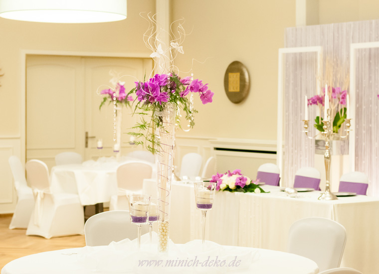 Hochzeitsdeko Service im Landhotel Jäckel Halle (Westfallen)