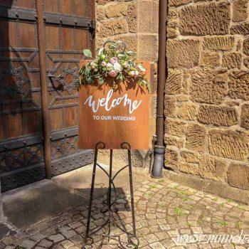 Staffelei Verleih, mieten | Vintage Hochzeitsdeko