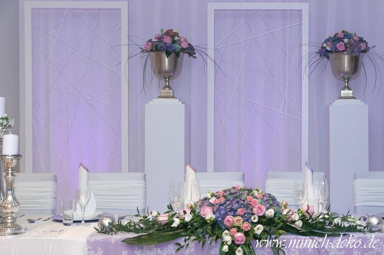 Braut-Tischdeko