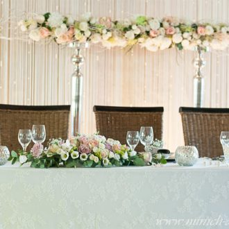 Brauttischdeko, Hintergrund, Tanzhaus-Marks, Bünde