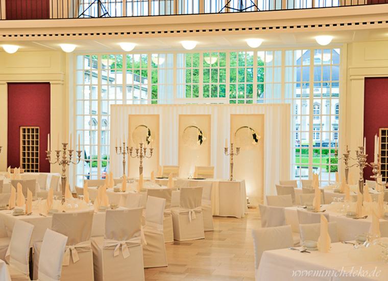 Brauttischdeko-Hochzeitsdeko, Wandelhalle in Bad Oeynhausen