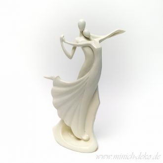 Dekofigur-Skulptur Paar mit Schwung