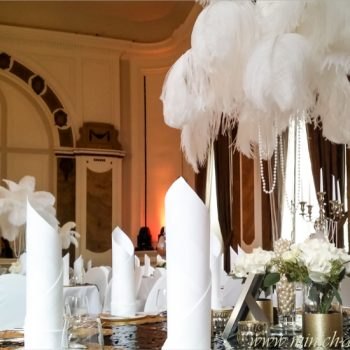 Dekoration Hochzeit gatsby Stil | GOP Bad-Oeynhausen