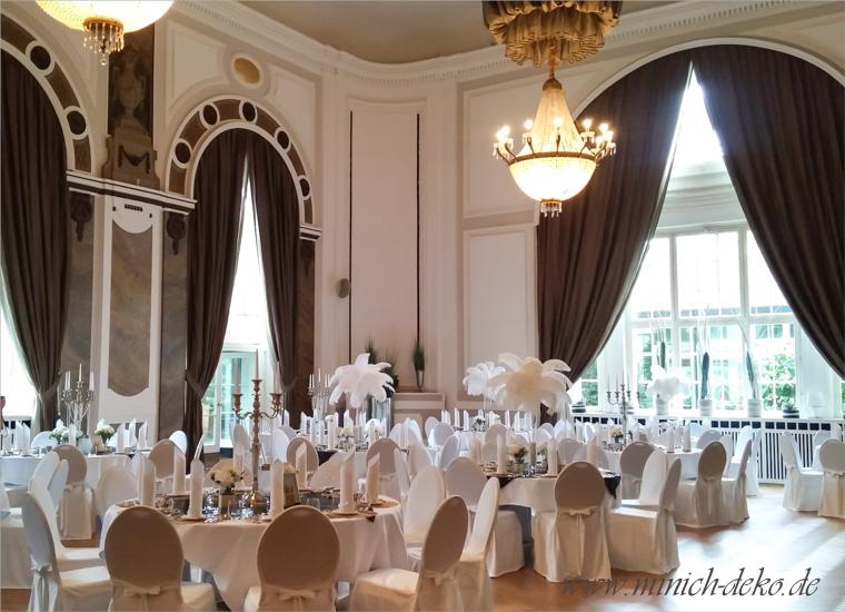 Gatsby Style Hochzeitsdeko im GOP Bad-Oeynhausen