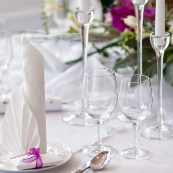 Kerzenständer Klarglas - 3er-Set