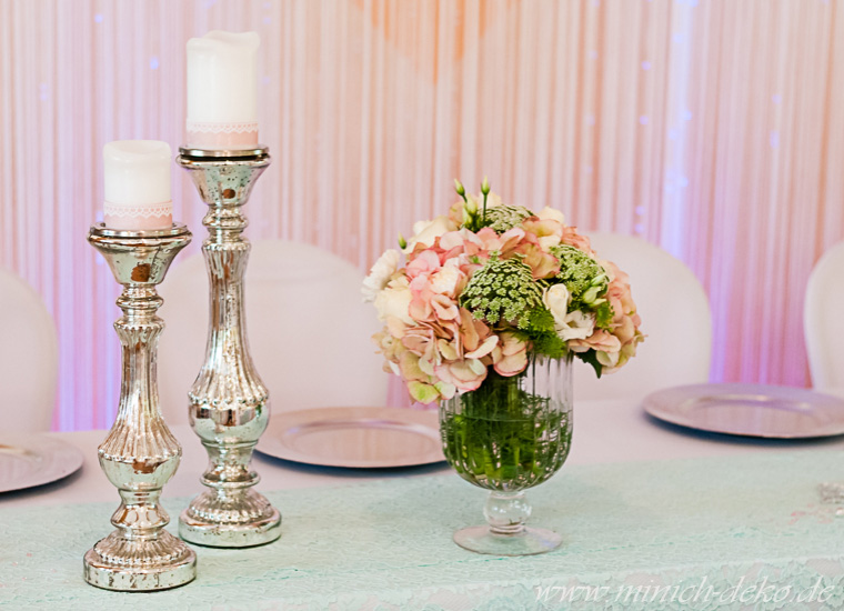 Hochzeitsdeko Dekoverleih Vasen Blumenstander Minich Deko