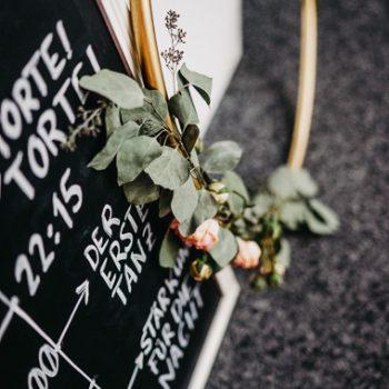 Zeitstrahl Timeline für Hochzeit